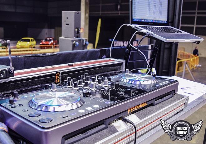 Track show equipamiento de sonido